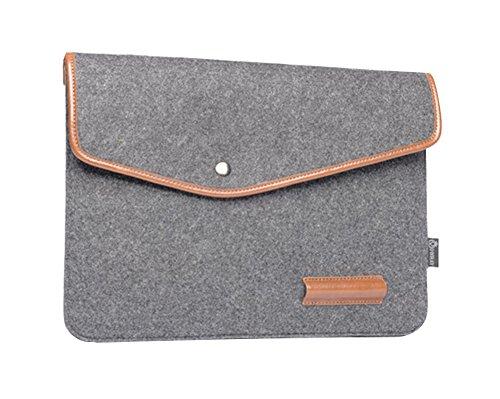 11.6-15.6 pouces Sacoche pour tablette Housse Portable pour Ordinateur Portable Sac à Main étui de Transport pour MacBook Air