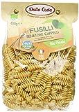 Dalla Costa Alimentare Fusilli Pasta di Semola di Grano Duro Senatore Cappelli Biologica, 400 g