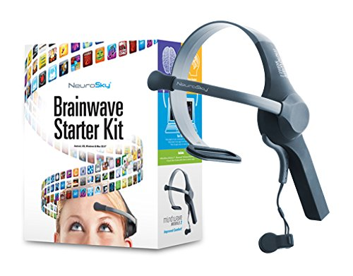 NeuroSky MindWave Mobile 2: BrainWave Starter Kit EEG Headse.