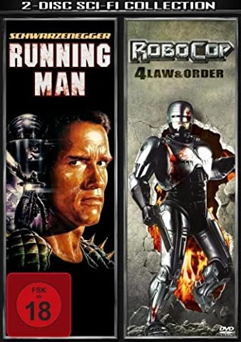 The Running Man - Running Man/Robocop 4 Law & Order [Import