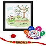 Best Frames With Quotes - Indigifts Sibling Childhood Memories Quote Printed Multi Gift Review