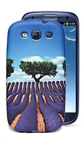 ECellStreet Silicon Soft Back Case Cover Back Cover For Samsung Galaxy S3 i9300 / S3 Neo i9300i - Tree