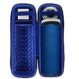 Hart Reise Schutz Hülle Etui Tasche für Ultimate Ears UE Megaboom 3 Bluetooth Lautsprecher von co2CREA (Blaue Lagune mit Ladegeräte)