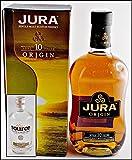 Jura Origin 10 yo Single Malt Whisky mit Original Uisge Source Water of Scotland, kostenloser Versand