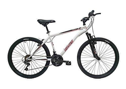 Discovery DP071 – Bicicleta Montaña Mountainbike 26″ B.T.T. Con amortiguación. Cambio fricción, 18 Velocidades. Para hombre