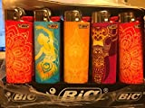 #7: BiC Maxi Abstract Collection of 5 Lighters