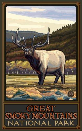Northwest Art Mall Great Smoky Mountains National Park North Carolina Art Wand von Paul eine lanquist, 11von 43cm