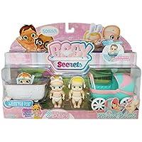 Baby segreti–30856–Pack di 3cui 1mistero (Cavallo a dondolo/carrozzina/culla o seggiolone)–Modello casuale