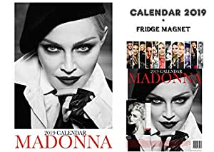 madonna kalender 2019 madonna k hlschrankmagnet amazon. Black Bedroom Furniture Sets. Home Design Ideas