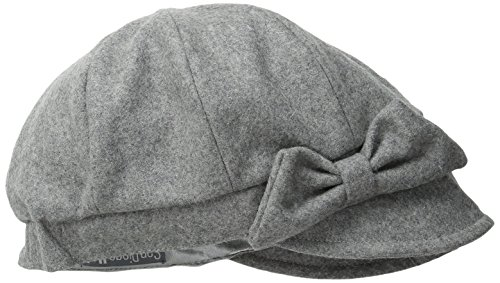 san-diego-hat-company-womens-wool-cap-with-self-fabric-bow-grey-one-size