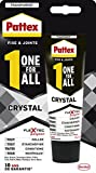Pattex 2087138 One for All Crystal Tube 90g, Transparent