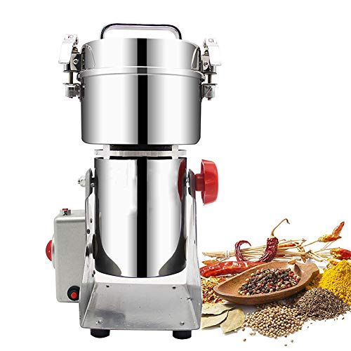 Electric High-Speed Grain Grinder, Simple Operation, Especially Suitable for Chinese Medicine Clinics, Hospital Pharmacies, Health Care Products