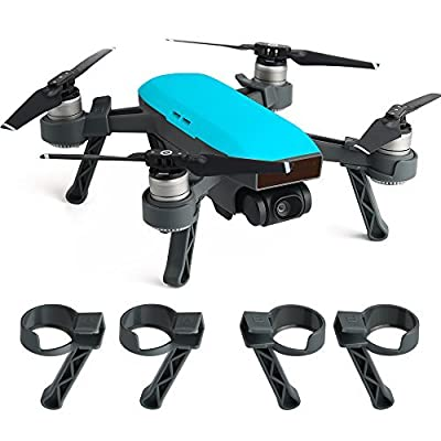 Kuuqa Landing Gear Leg Height Extender Kit Protection Accessories for Dji Spark (Dji Spark Not Included)