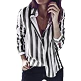 SANFASHION Bekleidung - Camicia - con Bottoni - Tinta Unita - Donna Grigio Scuro 42 EU