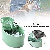 Ritapreaty Dispenser di Acqua per Animali Domestici, Dispenser Automatico di circolazione per Mini Alimentatore di Acqua Potabile per Cane Gatto, Super Silenzioso e igienico