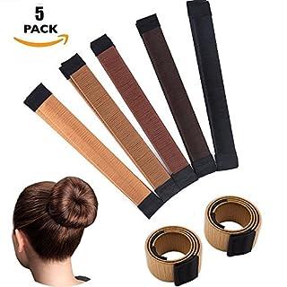 Easy Hair Bun Maker Sets- Woman Kid Girl Fashion Hair Styling Accessories Magic DIY Snap Hair Bun Making Curler Roller Tool