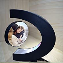 Signstek Cadre de Photo Créatif, Cadre Photo Maglev avec LED Lumière