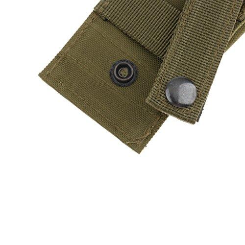 Generic Taktische / Militärische Gürteltasche, Rucksack zusätzliche Tasche, Praktisch Pouch für Outdoor Aktivitäten Armeegrün