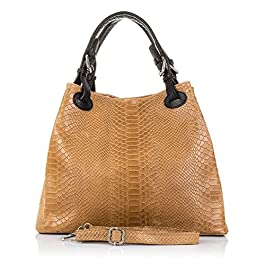 DDLBiz, Borsa a spalla donna, borse a mano, Semplice Inverno maggiore capacità ecopelle borsa messenger Shopping Bag