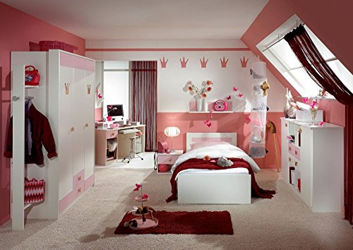 Kinderzimmer Komplett Set Little Princess L Rosa Weiss
