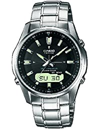 Casio Wave Ceptor - Herren-Armbanduhr mit Analog/Digital-Display und Massives Edelstahlarmband - LCW-M100DSE-1AER