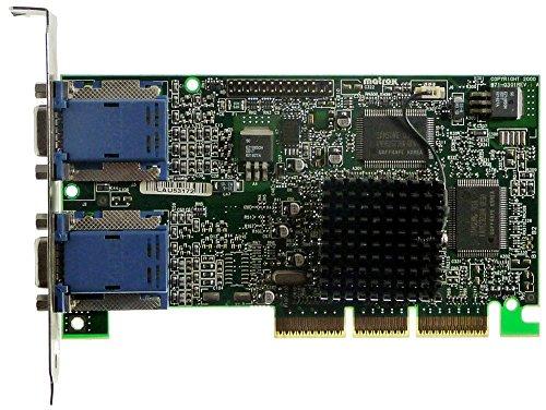 16MB Matrox G450 G45+MDHA16D Dualhead AGP4x 2xVGA ID12281 -