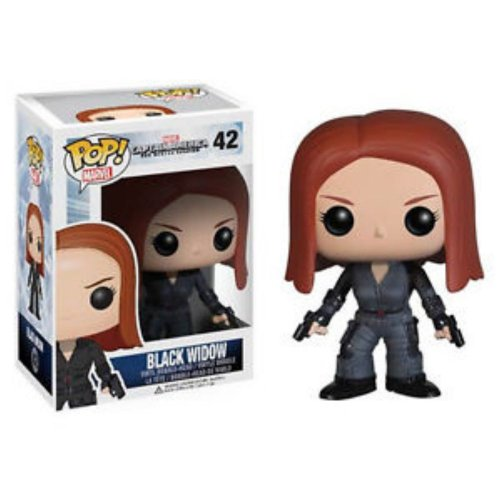 Funko Captain America Movie 2 POP! PVC-Sammelfigur: Black Widow
