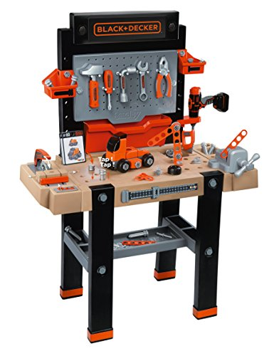 Smoby 360702 - Black + Decker Super Werkbank Center