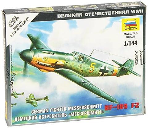 Zvezda - Z6116 - Maquette - Aviation - Messerschmitt Bf109f-2