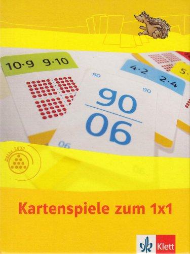 Einmaleins - Kartenspiele (Programm Mathe 2000+)