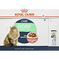 Royal Canin Cat Food Adult Digest Sensitive in Gravy, Wet Food - 12 Pack x 85g