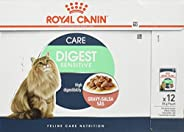 ROYAL CANIN DIGEST SENSITIVE 12 POUCHES x 85 GM WET CAT FOOD SLICES IN GRAVY