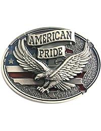 Buckle Orgullo Americano, águila, Águila, USA, Hebilla
