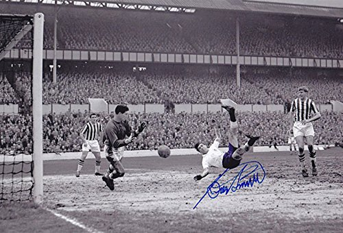 SALE-20-OFF-RRP-GUARANTEED-AUTHENTIC-TOT-005-HAND-SIGNED-12×8-PHOTO-TOTTENHAM-1959-BOBBY-SMITH