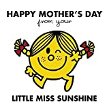 Mr Men 3D Holographic Greetings Card - Happy Mother\'s Day - Little Miss Sunshine