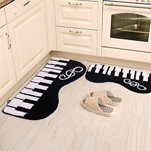 HomJo Tapis antidérapants pour aspiration tapis simples tapis pour porte de salle de bain 50 * 120cm , 1 , 50*120