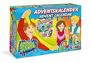 CRAZE Calendario de Adviento MAGIC SLIME 2019 divertido calendario de juguetes para niños para Navidad 19412