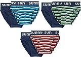 Sammy Sun Jungen Slips,6 Pack,164,Marine/türkis/orange/grün/grau