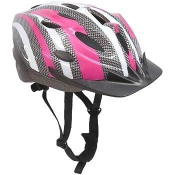 sport direct damen fahrradhelm pink mit 22. Black Bedroom Furniture Sets. Home Design Ideas