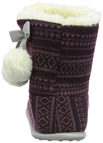 Rocket Dog Snowflake, Chaussons femme Multicolore (Taos Burgundy)