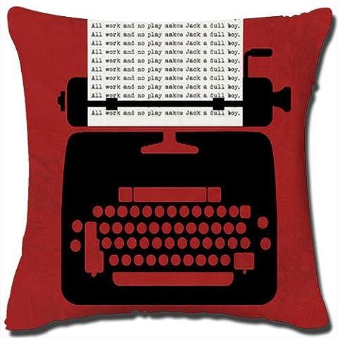 Horror Style Housse de coussin décorative en coton-Belle Coussin fabriqué à Partir de 100% qualité lin/coton Dimensions : 18 cm x 18 cm, ne comprend Pas les oreiller.