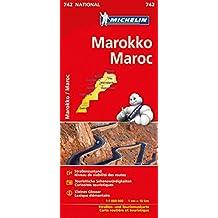 Michelin Marokko: Straßen- und Tourismuskarte 1:1.000.000 (MICHELIN Nationalkarten)
