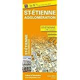 Plan de Saint-Etienne et de son agglomération - Echelle : 1/14 000