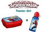 Spiderman Brotdose und Aluminium Trinkflasche