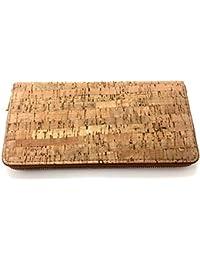 fa9801dd5c Borsa 24 cm di sughero un sacco di spazio di archiviazione extra porta  carte borsa beige