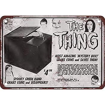 Lorenzo Stranger Things Film Movie/ Vintage en M/étal T/ôle Signe Mur Fer Peinture Plaque Affiche Panneau Davertissement Caf/é Bar Pub Bi/ère Club D/écoration de La Maison