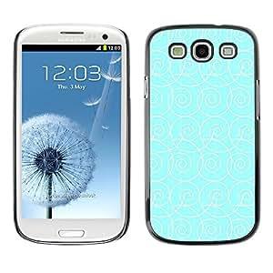 Ziland / Slim Design Case Cover Shel / Pattern Waves Surf Wallpaper / Samsung Galaxy S3 I9300