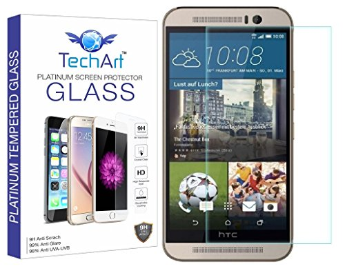 TechArt 2.5D Ultra Thin 9H Hardness Shatter Proof Premium Tempered Glass Screen Protector for HTC One M9 / One M9s  available at amazon for Rs.109