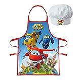 Palleon Super Wings Kinder Koch-Set Kochschürze und Kochmütze