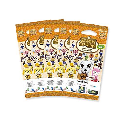 5x Amiibo Karten 3 Stück Animal Crossing Happy Home Designer Vol. 2 - 3 Stück Designer